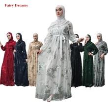 65eb052d6b04e الحجاب العباءة فام دبي المغربي التركية تركيا النساء ضمادة مسلم اللباس  بنغلاديش القفطان الملابس الإسلامية القفطان
