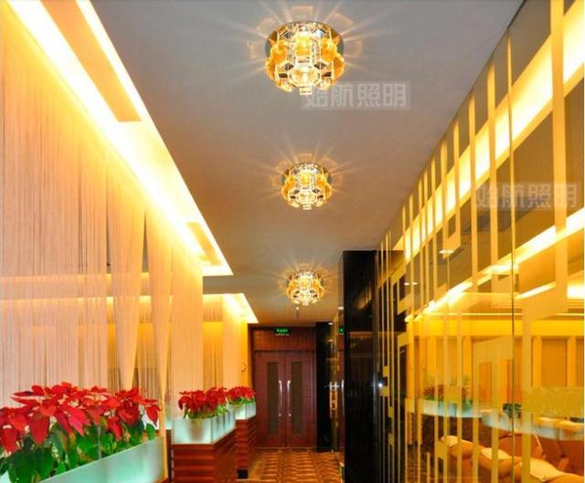 Colorpai 3 Watt Led Kristall Deckenleuchte Gang/eingang/küche/flur Flurbeleuchtung  Beleuchtung Balkon