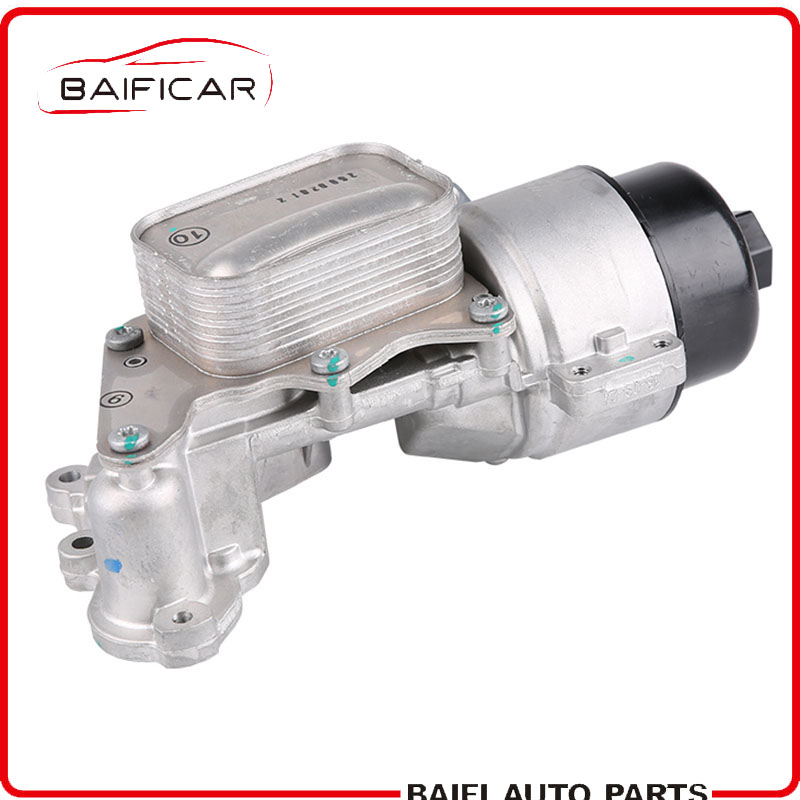 Baificar Brand New Genuine Engine Oil Cooler Filter Housing V864374580 For Peugeot 308CC 3008 Citroen C4