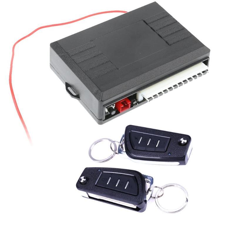 VODOOL Universal puerta del coche sistema de entrada sin llave Auto remoto Central Kit de Control accesorios de coche de alta calidad