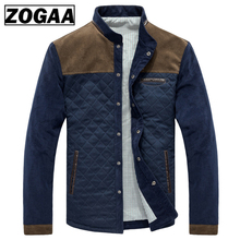 ZOGAA Spring Autumn Mens Jacket Baseball Uniform Slim Casual Coat Brand Clothing Fashion Coats Male Outerwear Windbreaker