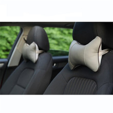 Car Styling New 1pc Breathable Car Vehicle Auto Seat Head Neck Rest Cushion Headrest Pillow Pad 4 Colors Hot Selling