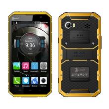 Kenxinda W9 IP68 étanche smartphone 4G LTE andriod 5.1 octa base 2G + 16G double SIM double caméra 6.0 «robuste mobile téléphone P029