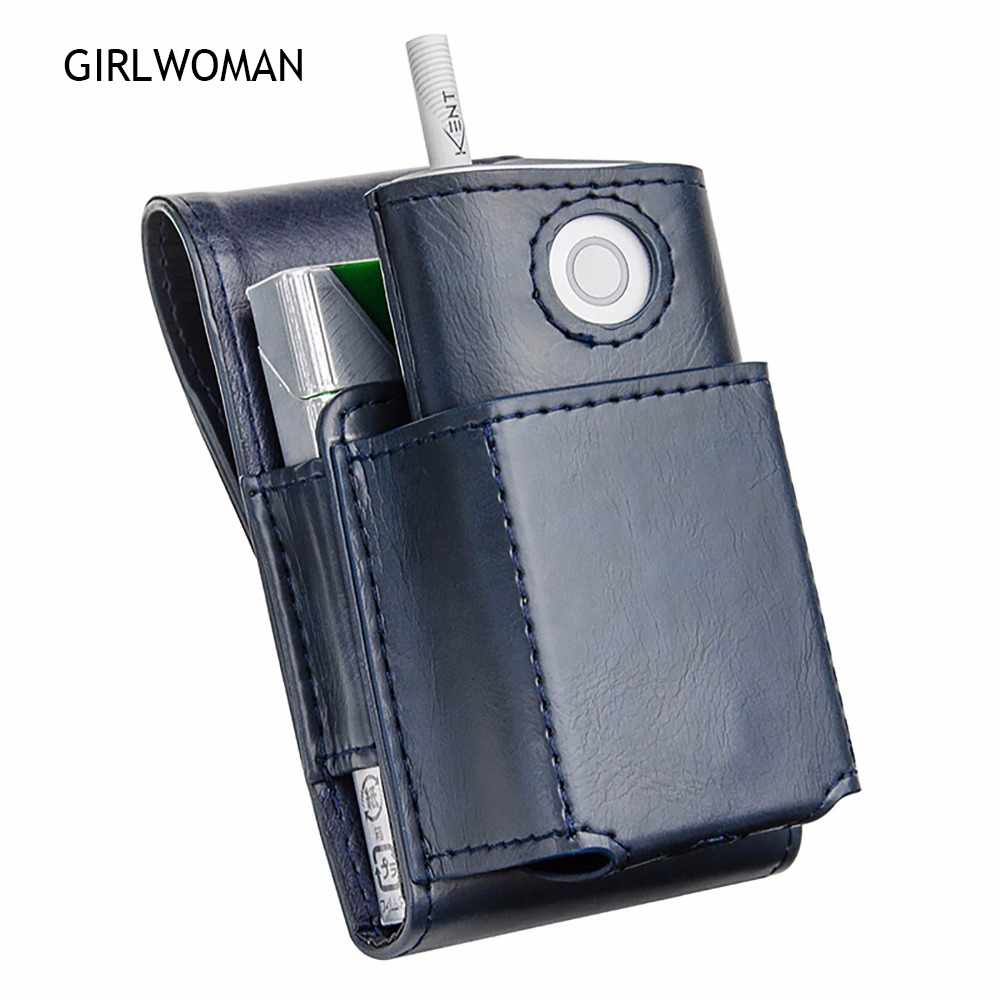 GIRLWOMAM Fashion for GLO Case Protective Holder Cover Wallet Case font b Electronic b font Cigarette