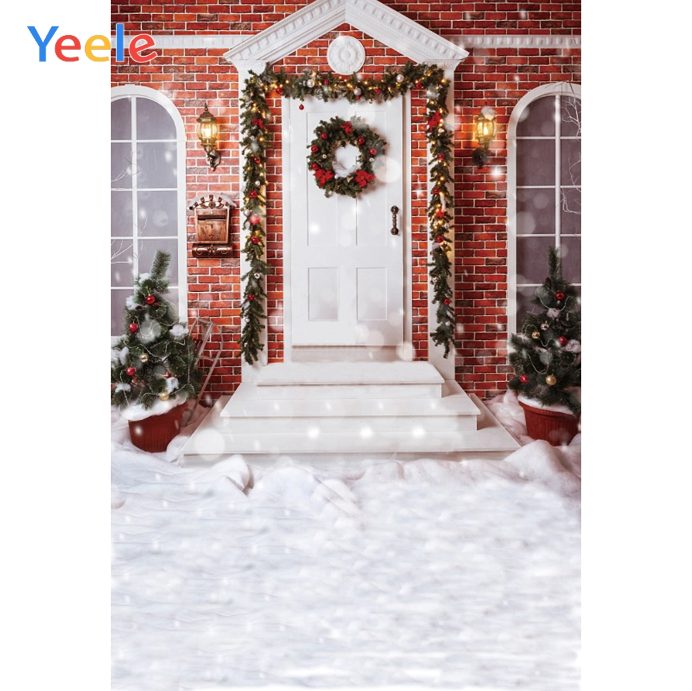 Yeele Merry Christmas Party Winter Decor Bokeh Light Photography Backdrop Personalized Photographic Backgrounds For Photo Studio