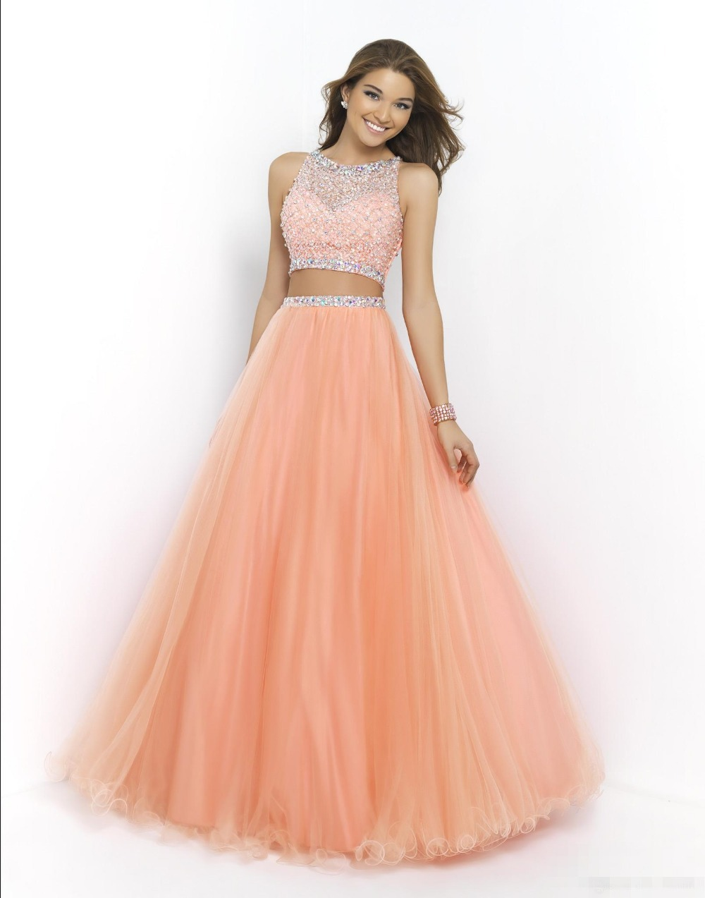 Pink Champagne Color Dress