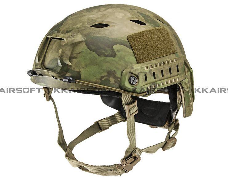 Для страйкбола фирмы emeson Быстрый шлем для бейсджампинга(уплотнения пластины Highlander ATFG Mandrake Marpat Пустыня AT) em5659c - Цвет: ATFG