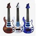 [PCMOS] Color De Madera pequeño Tipo De Secuencia De la Guitarra Ukulele Niños Instrumento Musical de Juguete de Aprendizaje No Eléctricos Muñeca Juego BLANCO 1072