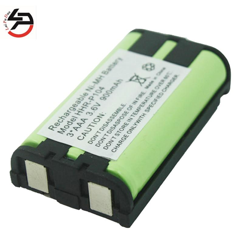 foto de 2pcs For Panasonic HHR P104 Cordless Phone Battery 3 6V
