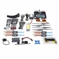 DIY X4M360L Frame полный комплект с gps APM 2,8 Батарея Зарядное устройство RX TX Радиоуправляемый Дрон 4 оси самолета дистанционного Управление вертолет