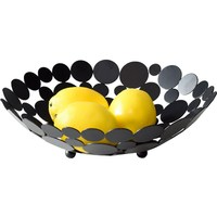 Nordic Style Modern Luxury Metal Fruit Basket Creative Living Room Large Fruit Bowl Storage Holder Crafts Home Furnishings Gifts