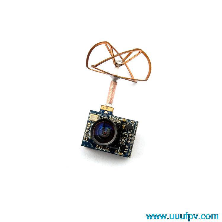FX797T 5.8G 40CH 25mW Transmitter AV Mini Photos Transmission with 520TVL Camera antenna PAL Format for radio transmitter