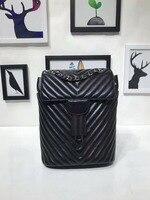 WG06182 модный роскошный рюкзак простой Портативный складной Европе дизайнер рюкзак Европе Бренд Взлетно посадочной полосы Чемодан сумка