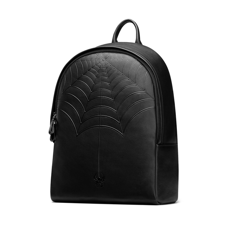 2017 Brand High Quality Leisure Men Genuine Leather Black Backpack Fashion Double Shoulder Bags Multi-capacity Travel Bag j50 safebet brand high quality pu leather handbags for men large capacity portable shoulder bags men s fashion travel bags package