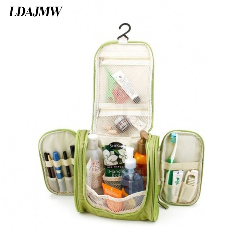 LDAJMW Multifunkční make up Skladovací taška pro ženy Makeup Cosmetic Bag Case Toiletry Pouch Organizér Hanging Travel Wash Bag