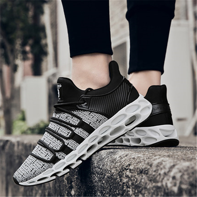 2018 new blade warrior running shoes youth trend personality Korean shoes mens sports shoes new tide shoes personality wild