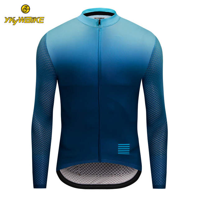 clearance sale lace up in professional sale Online Shop YKYWBIKE Men Cycling Jersey MTB Long Sleeve Bike Shirt ...