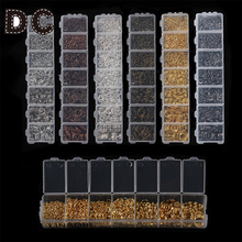 1450pcs/lot Multi Color Mix Size Open Jump Rings Silver Gold Color Link Loop DIY Jewelry Findings Connector Creative DIY F2973