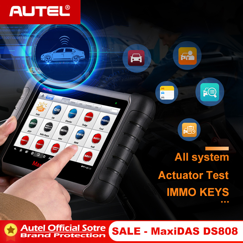 Autel MaxiCOM MK808 OBD OBD2 EOBD Diagnostic Tool Automotive