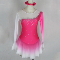 Customized Costume Ice Skating Figure Skating Dress Gymnastics Adult Child Girl Ice Dancing Ice Skating Clothing