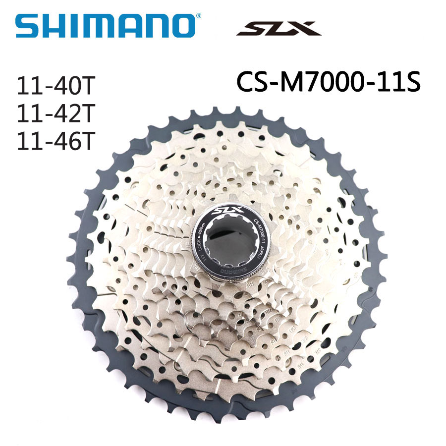 Shimano SLX CS-M7000  11-40T 11-42T 11-46T cassette 11-speed M7000 40T 42T 46T