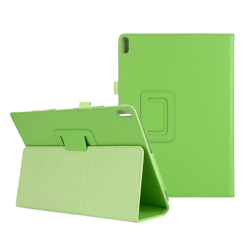 30PCS/Lot Litchi Stand PU Cover Fit For Lenovo Tab 4 10 TB X304 Tab4 10 Plus TB X704 Flip Case By DHL Fedex-in Tablets & e-Books Case from Computer & Office    2