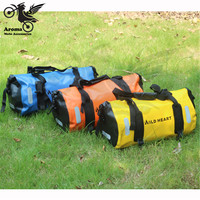 30L moto bag outdoor sport tool bags bike part bicycle motorcycle travel luggage pouch PVC waterproof motorcycle back seat bags