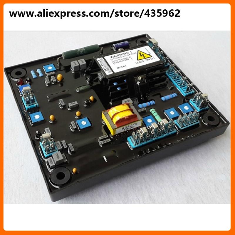 лучшая цена MX341 Generator Spare Parts Brushless Alternator AVR high quality spare part