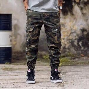 Image 3 - חדש אופנה גברים Streetwear Mens ג ינס מכנסיים אצן נוער מזדמן קרסול מכנסיים אתחול לחתוך ג ינס אירופאי מכנסיים זרוק חינם ABZ175