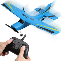 Boy Gift Outside Sky Electric RC Remote Control Glider 2.4G 150M EPP Foam Fixed Wing Hand Throw RC Military Model RC Plane Toy