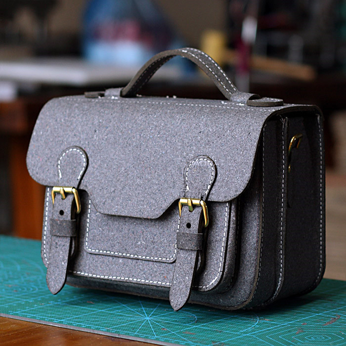 [B-076] DIY Leather Bag Womens Bags Shoulder Bags Have been cut out Bag Paper Drawing Type ...