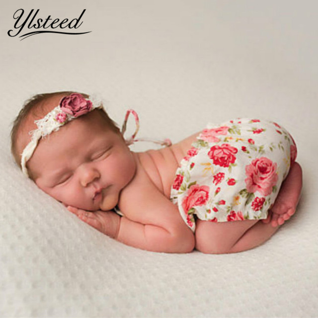 657048615 Vintage Linen Newborn Romper Baby Girls Simple Floral Rompers ...
