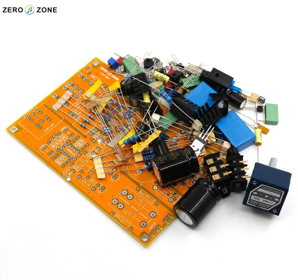Gzlozone Upgraded Headphone Amplifier Kit Preamp Base On Lehmann Hifi Circuit Electronic Circuits And Diagram Amp Alps Potentiometer In From Consumer Electronics