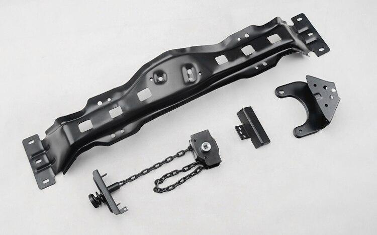 Здесь можно купить   No welding  tire mount spare tire bracket spare tire blowout shaking bracket for FJ120 FJ150 Prado 2003-2016 Автомобили и Мотоциклы