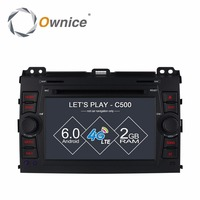 Ownice C500 Android 6 0 4 Core Car DVD Player For Toyota Prado 120 2002 2009
