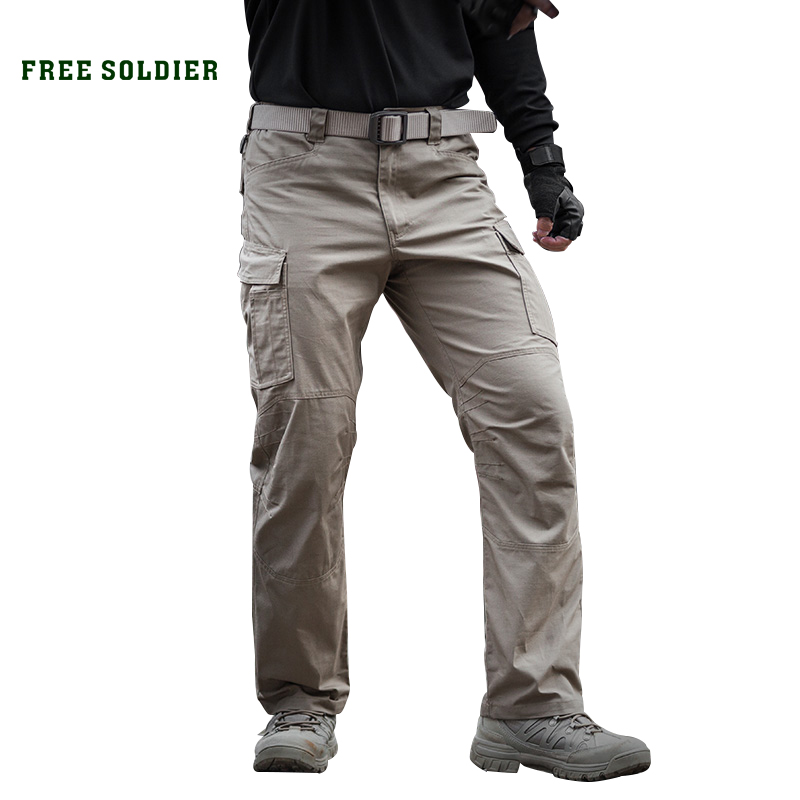 Prix pour Free soldier extérieure hommes de printemps d'été tactique pantalon anti-gratter pantalon hommes de camping randonnée escalade pantalon