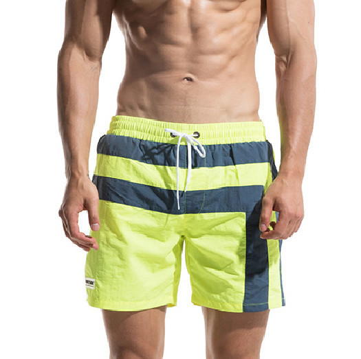 2018 Mens   Board     shorts   Men Boardshorts Beach Swimming   Shorts   Brand Quick Dry Bermuda Surf Swimwear Bathing Swim Wear Mesh Liner