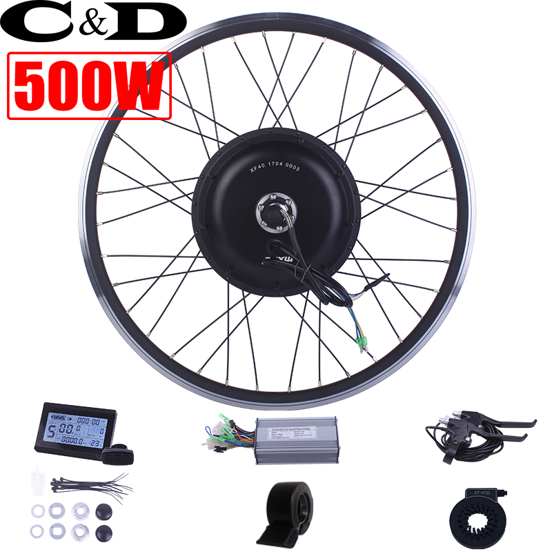36V 48V 500W ebike kit Electric bike conversion kit XF39 XF40 motor MXUS brand without battery