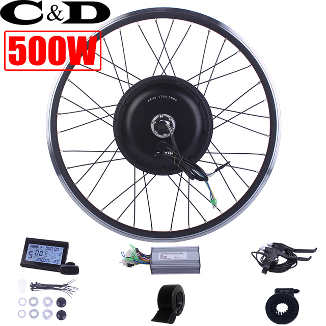 36 v 48 v 500 watt ebike kit Electric bike conversion kit XF39 XF40 motor MXUS marke ohne batterie LED LCD display optional freilauf