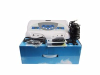 Deep Cleansing For two persons Ionic Foot Detox with CE Detox Machine Ion Foot Spa Ion Cleanse Detox Foot Spa with music