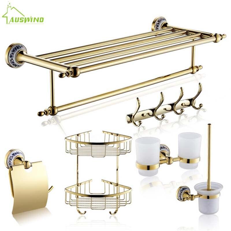 Brass bathroom accessories set chrome finish bathroom - Chrome and brass bathroom accessories ...