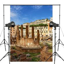 150x220cm Ancient City Photography Background Roman Remains Architecture Backdrop Theme Studio Props Wall