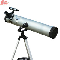 lescopZIYOUHU 76700 Astronomy Tee 3 Inch Metal Newtonian Reflector Astronomical Telescope For Space Observation and Watch stars