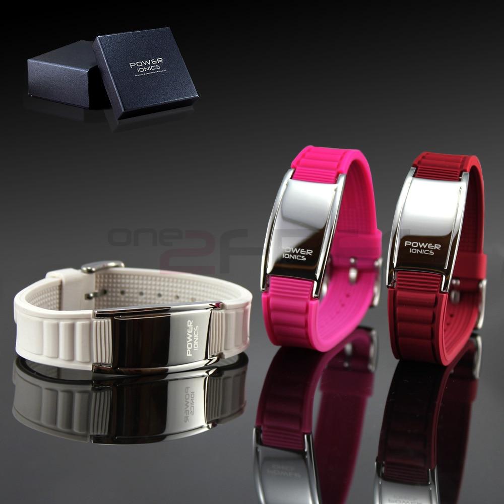 Power Ionics Klassisk stil Sport Titanium Armband Armband Balans - Märkessmycken - Foto 3