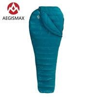 Aegismax Sleeping Bag Outdoor Camping Hiking Ultralight 95% White Goose Down Spring Autumn Sleeping Bags Nano2 200*86cm