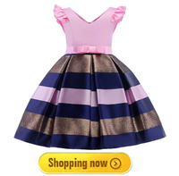veto рисунком для девочек праздничное платье принцесса платье для девочек летняя детская одежда свадьба день рождения платье для Малики-пак 2-10 лет детская одежда для девочек