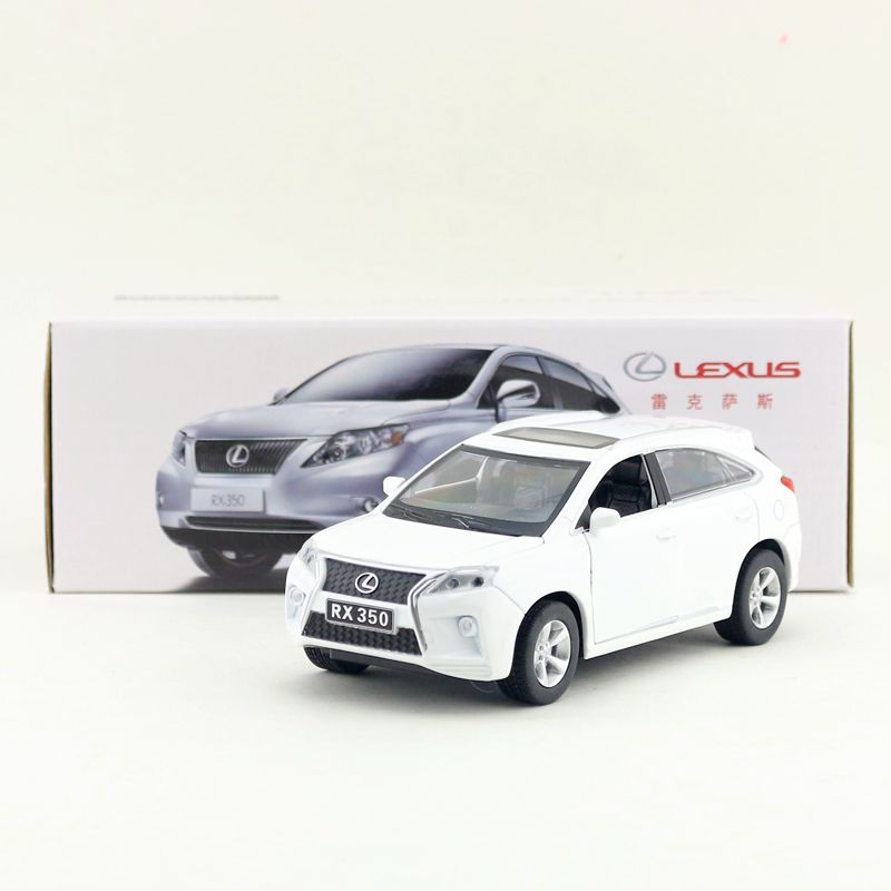 1:32 15cm delicate Lexus RX350 SUV car vehicle acousto-optic alloy pull back model boy toy ...