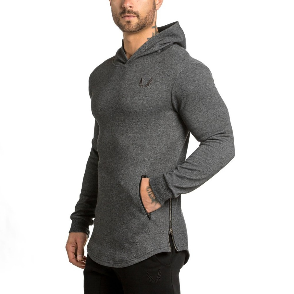 New Vogue Males Hoodies Zipper Pocket Model Informal HSodie Informal Jaskets Male Hody moletom gyms health bodybuilding clothes Hoodies & Sweatshirts, Low-cost Hoodies & Sweatshirts, New Vogue Males Hoodies...