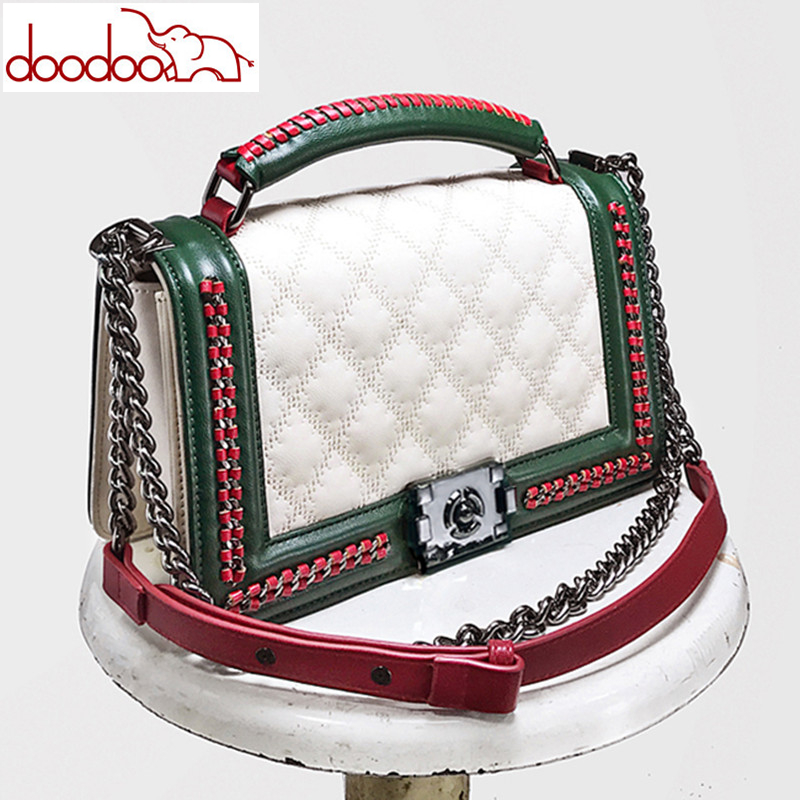 Famous Designer Handbags High Quality Fashion Lattice Women Messenger Bags Luxury Brand Chain Shoulder Bags Women Crossbody Bags цена