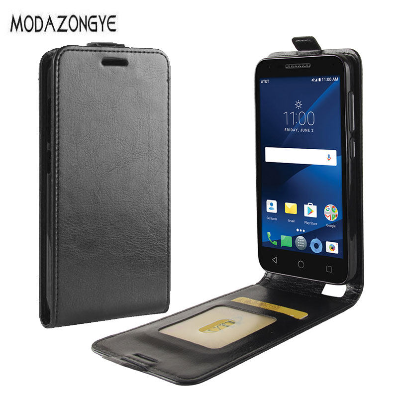 For Alcatel Verso Case Alcatel 5044R Cover 5.0 Wallet PU Leather Back Cover Phone Case For Alcatel Verso 5044R Flip Case